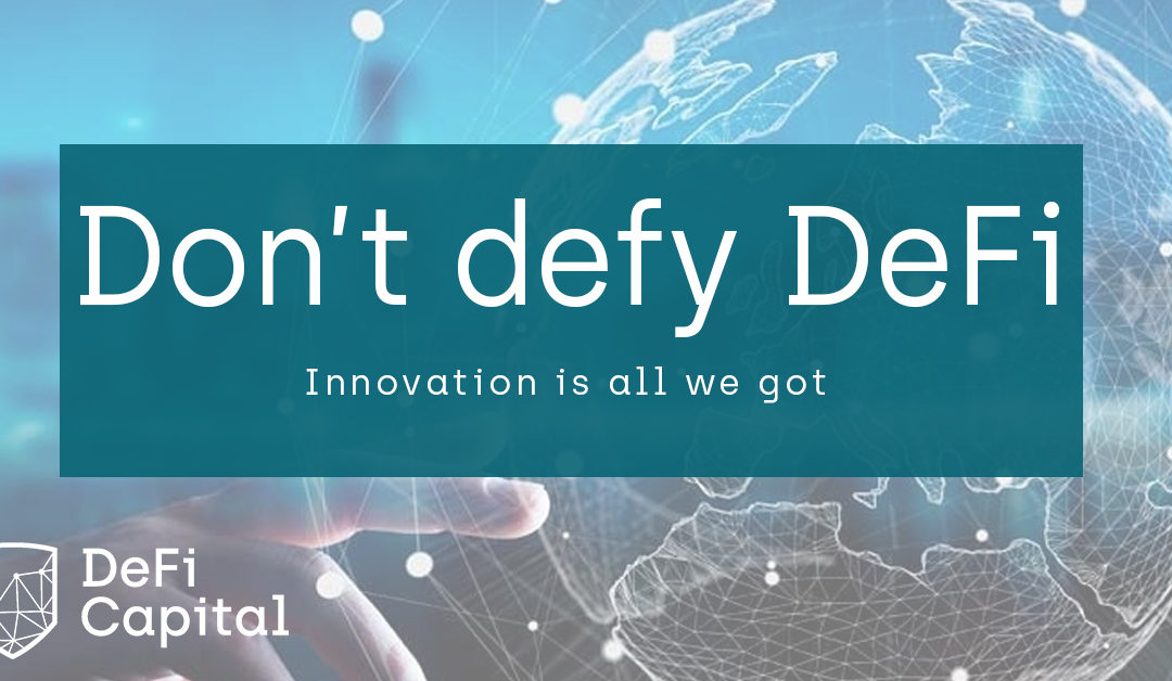 Don't defy DeFi